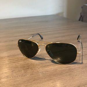 Women's Rayban Aviator Sunglasses - 58mm